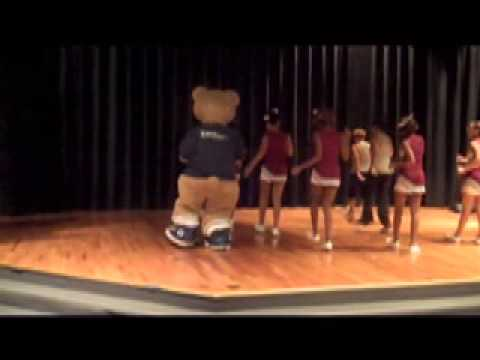 Town E Bear at Portsmouth Wellness Day