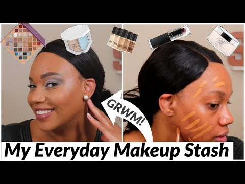 My First EVERYDAY MAKEUP STASH / Shop My Stash | October 2019 | SistarPhilly thumbnail