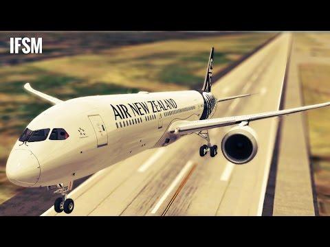 Infinite Flight Boeing B787 Air New Zealand livery - KMIA - KTPA