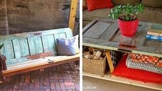 11 Creative Ways To Repurpose An Old Door