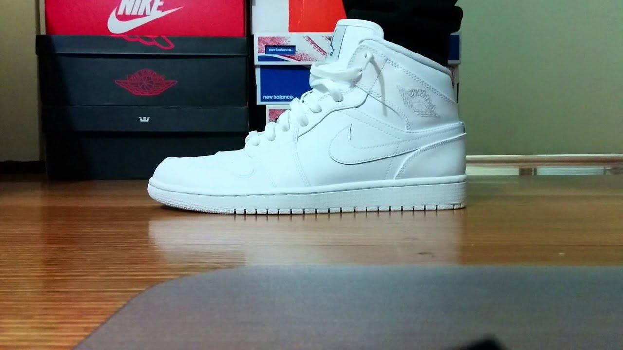 air jordan 1 all white