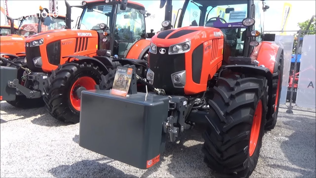 The KUBOTA tractors 2018