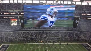 Dallas Cowboys Player Intros
