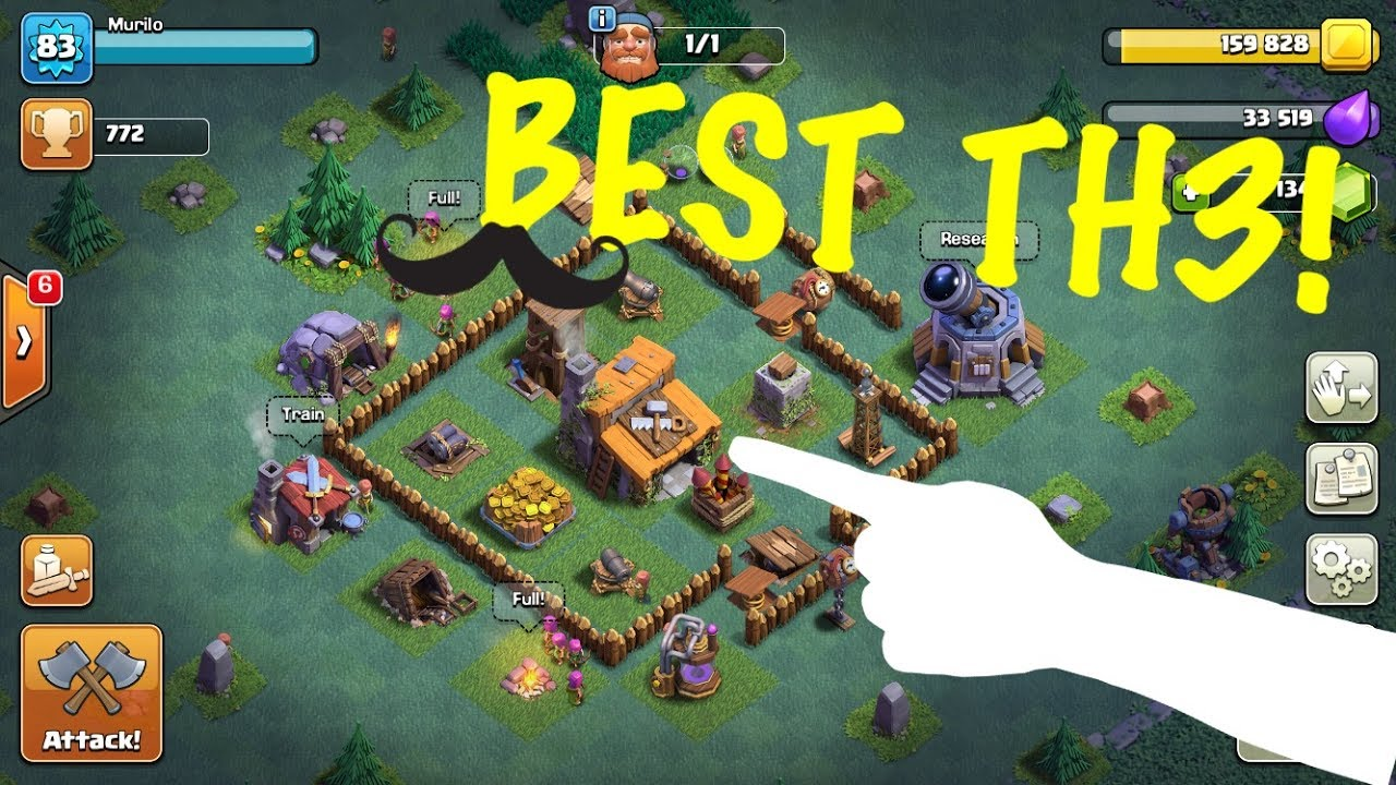 Coc Builder Base Th3 Best Defense Layout 2