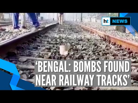 Bombs recovered from Bengal's Hridaypur, Barasat railway tracks