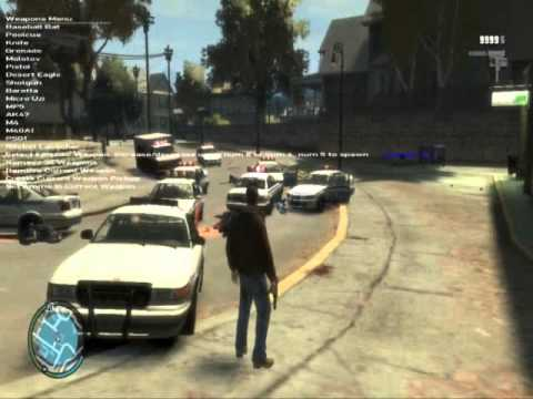 GTA IV - New Weapons Added Without Replacing