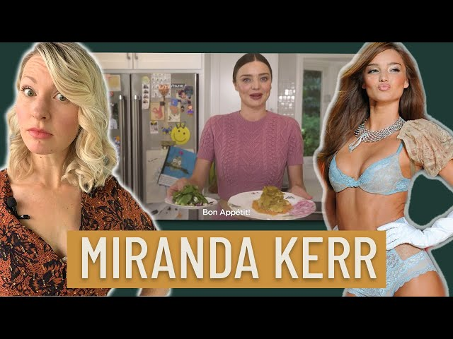 Dietitian Reacts to Victoria Secret Model Miranda Kerr's What I Eat in a Day