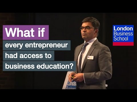 What if every entrepreneur had access to business education?