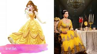 Disney Princesses As Indian Brides