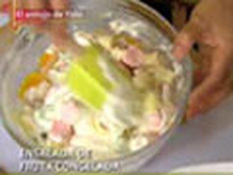 Ensalada de fruta con queso crema youtube - Como hacer coctel de frutas ...