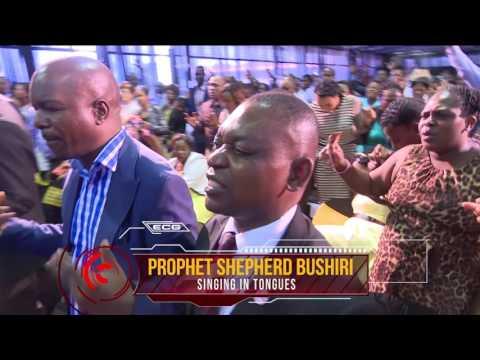 Powerful Demonstration of Gods Power | Singing in Tongues | Prophet Shepherd Bushiri