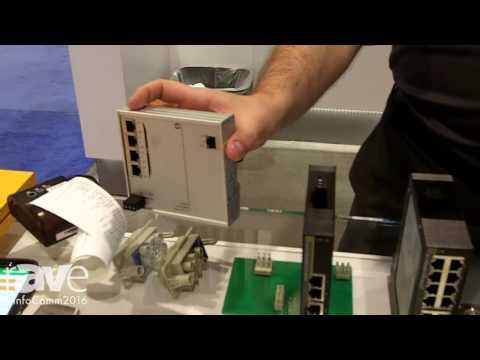 InfoComm 2016: Harting Tells rAVe About eCon 3000 Basic FE Ethernet Switch