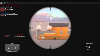 Roblox: Last Strike DSR 50 sniping gameplay