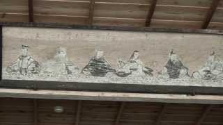 30秒の心象風景3938・絵馬のある舞台~御形神社~