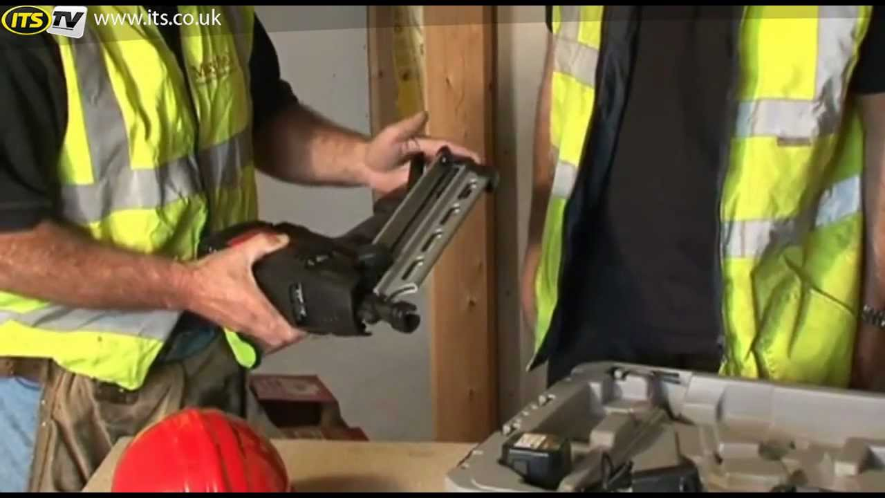 Senco Nailer GT90CH - ITS TV - YouTube