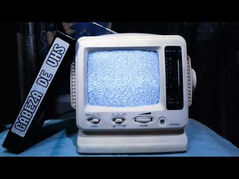 White Noise Mini TV Spectra - 1 Hour Ambient Sound Static