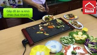 Bếp nướng không khói Kochi Nhật Bản -  Rửa trực tiếp không bị chập cháy