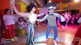 Fadi Fusion & Veronica Lopez - Salsa Social Dancing | Respublika days 2019