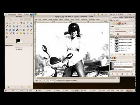 How To Apply A Comic Book Effect Any Photo Using The GIMP