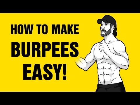 How To Make Burpees Easy And More Effective : Burpee Progression Exercises