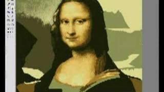 Mona Lisa Paint microsoft