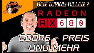 AMD Radeon RX 680 Navi | Preis - GDDR6 und Leistung des