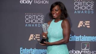 Viola Davis Reflects On Winning Best Supporting Actress At 2016 Critics Choice Awards