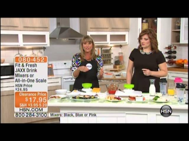 Kelly Diedring Harris presents the Fit & Fresh system on HSN; 8.23.13 Travel Video