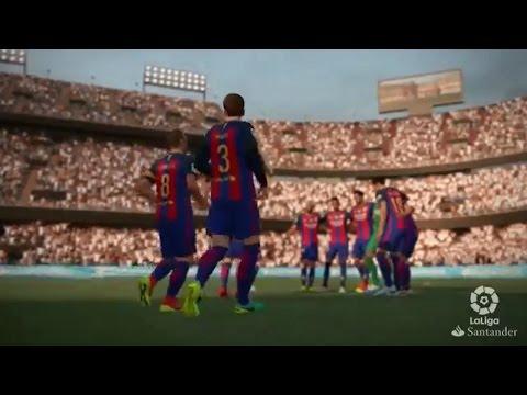 טריילר נוסף ל-FIFA 17 בכיכובה של הליגה הספרדית