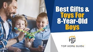 ▶️toys For Kids: Top 5 Best Toys For 8-year-old Boys In 2020 - Buying Guide
