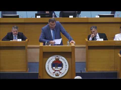 Sukob Milorada Dodika i Draska Stanivukovica (BN Televizija 2019) HD