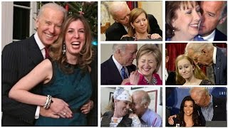 Compilation of Joe Biden being Creepy
