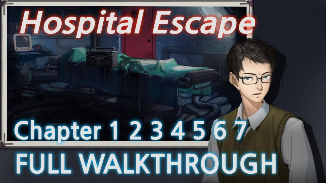 Hospital Escape Room Escape Game Full Game Walkthrough (Jusha)