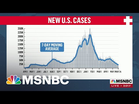 New U.S. Covid-19 Cases At Lowest Levels Since June | MSNBC
