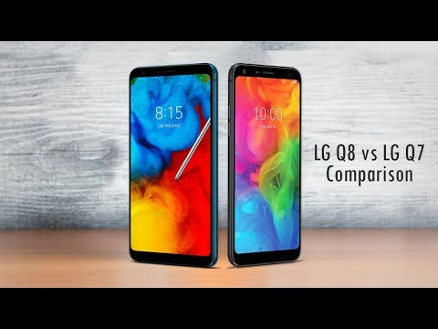 LG Q8 vs LG Q7 - Specs Comparison 2018