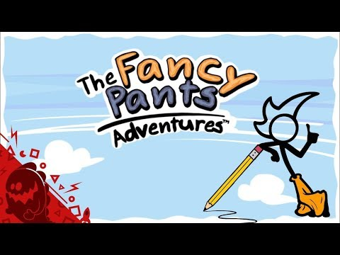 Super Fancy Pants Adventure [First 24 Minutes] - Gameplay PC