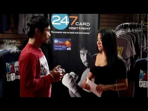 Manny Pacquiao-Antoinette Taus Interview - 247card.com