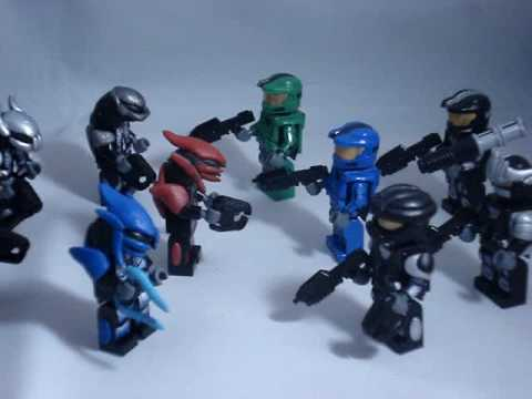 Custom lego halo recon spartan hayabusa and more youtube - Lego spartan halo ...