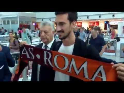 26.07.14 #Astori arriva a #Fiumicino