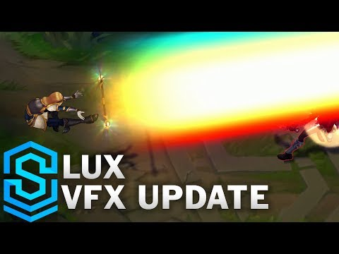 Lux Visual Effect Update Comparison - All Skins | League Of Legends