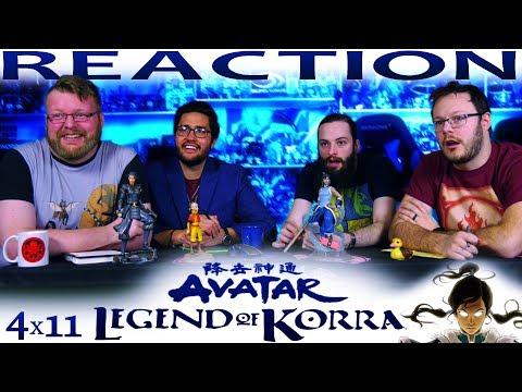 "Legend of Korra 4x11 REACTION!! ""Kuvira's Gambit"""