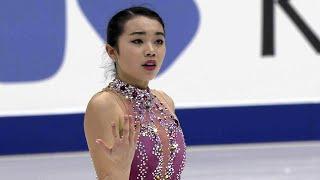 Карен Чен. Короткая программа. Женщины. NHK Trophy. Гран-при по фигурному катанию 2019/20