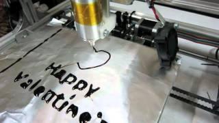 Printing Chocolate (Happy Valentine's Day)