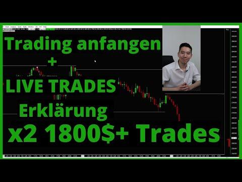 📌 Profitables Trading lernen // 3000$+ Trades & Performance Erklärung