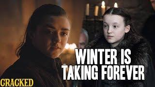 Arya Stark Kicks Ass, Lady Mormont's A Bad Ass & Ed Sheeran? - Winter is Taking Forever (GOT recap)