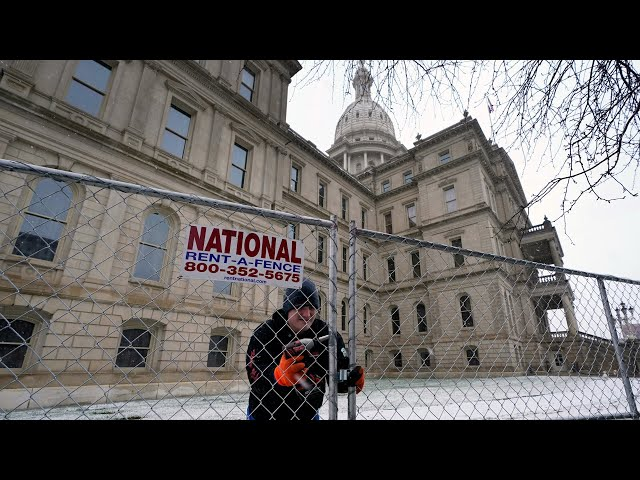 National Guard activated in Michigan as mayor shares inauguration day concerns