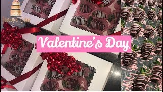 CHOCOLATE COVERED STRAWBERRIES | VALENTINE'S DAY EDITION