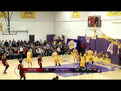 Cavs Rookie Kay Felder Scores 27 Points for Canton Charge