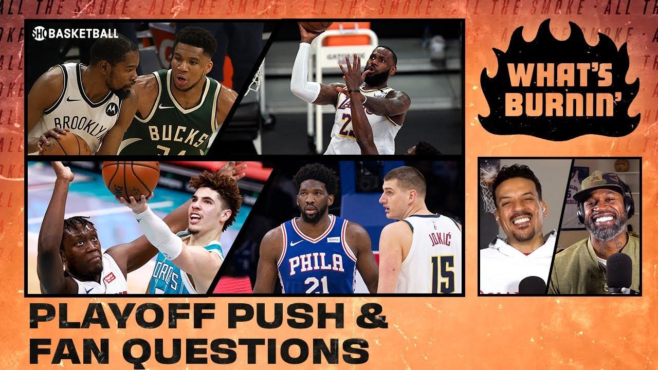 Lakers Struggles, Nets vs. Bucks, MVP Odds | WHAT'S BURNIN | SHOWTIME Basketball