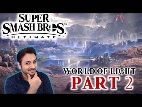 Let's Procrastinate With Super Smash Bros Ultimate - FIRST TIME - PART 2
